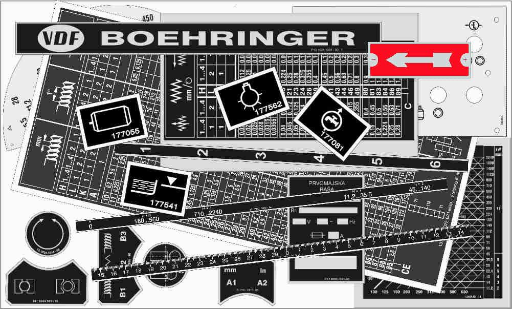 Boehringer D-420 - 480 - 520